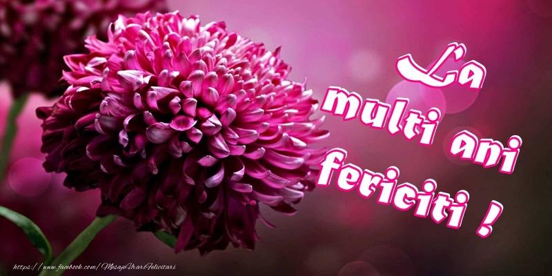 Felicitari de zi de nastere - La Multi Ani Cu Sanatate!