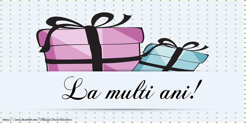 Felicitari de zi de nastere - La multi ani! - mesajeurarifelicitari.com