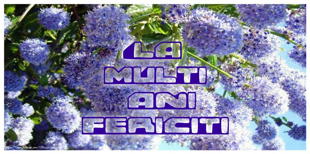 Felicitari de zi de nastere - La multi ani fericiti - mesajeurarifelicitari.com