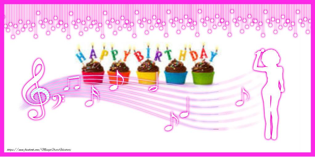 Felicitari de zi de nastere - Happy Birthday - mesajeurarifelicitari.com