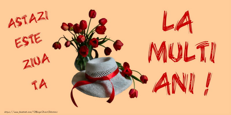 Felicitari de zi de nastere - Astazi este ziua ta La multi ani! - mesajeurarifelicitari.com