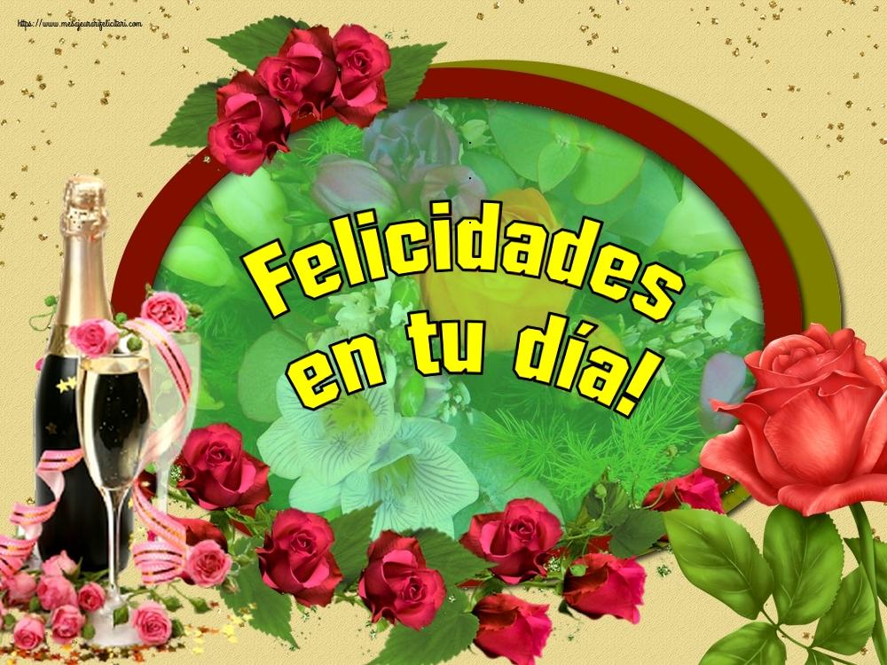 Felicitari de zi de nastere in Spaniola - Felicidades en tu día!
