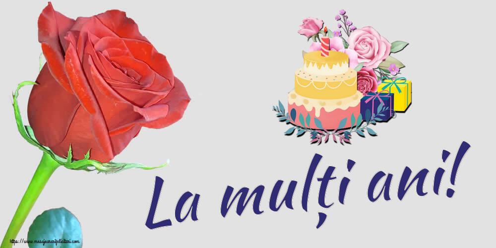 Felicitari de zi de nastere - La mulți ani!