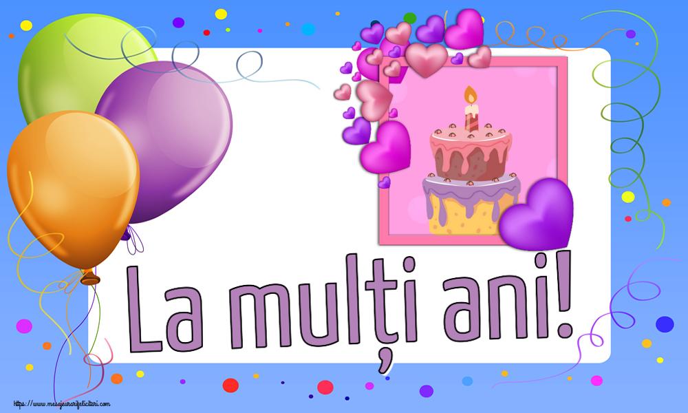 Felicitari de zi de nastere - La mulți ani! - mesajeurarifelicitari.com