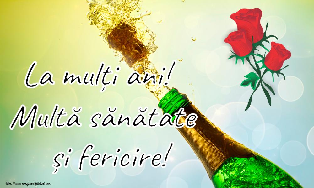 Felicitari de zi de nastere cu flori - La mulți ani! Multă sănătate și fericire!