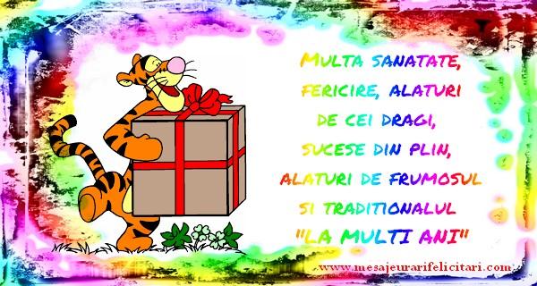 Cele mai apreciate felicitari de zi de nastere - Multa sanatate, fericire, alaturi de cei dragi,  sucese din plin,  alaturi de frumosul si traditionalul