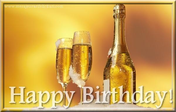 Felicitari de zi de nastere in Engleza - Happy Birthday!