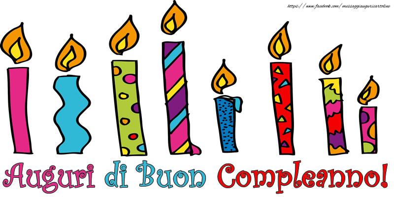 Felicitari de zi de nastere in Italiana - Auguri di Buon Compleanno!