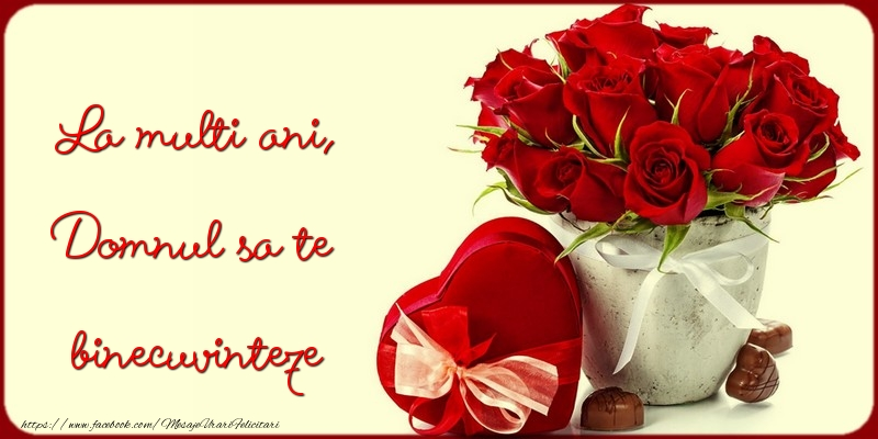 Felicitari de zi de nastere - La multi ani, Domnul sa te binecuvinteze - mesajeurarifelicitari.com