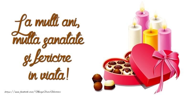 Cele mai apreciate felicitari de zi de nastere - La multi ani, multa sanatate