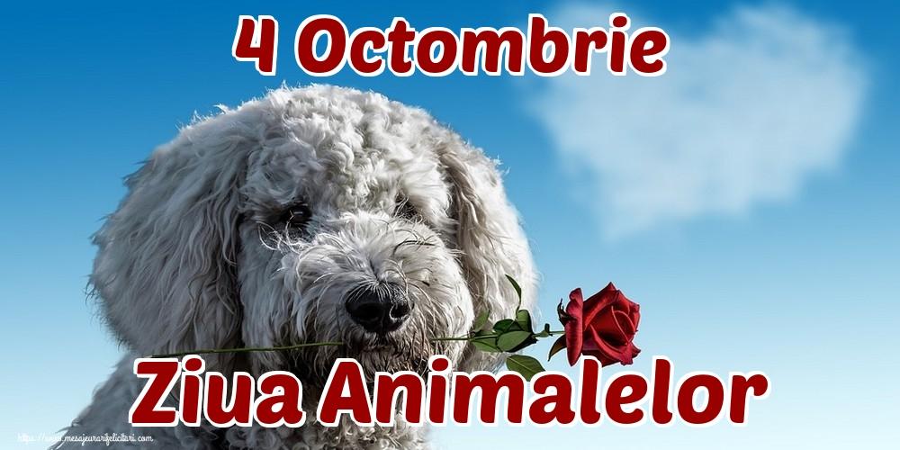 Felicitari de Ziua Animalelor - 4 Octombrie Ziua Animalelor