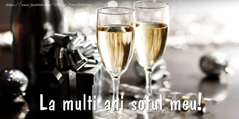 Felicitari de Ziua Barbatului - La multi ani sotul meu! - mesajeurarifelicitari.com