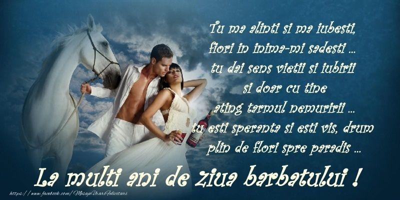 Ziua Barbatului Tu ma alinti si ma iubesti, fiori in inima-mi sadesti ... La multi ani de 19 noiembrie ziua barbatului!