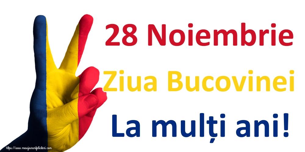 Felicitari de Ziua Bucovinei - 28 Noiembrie Ziua Bucovinei La mulți ani!