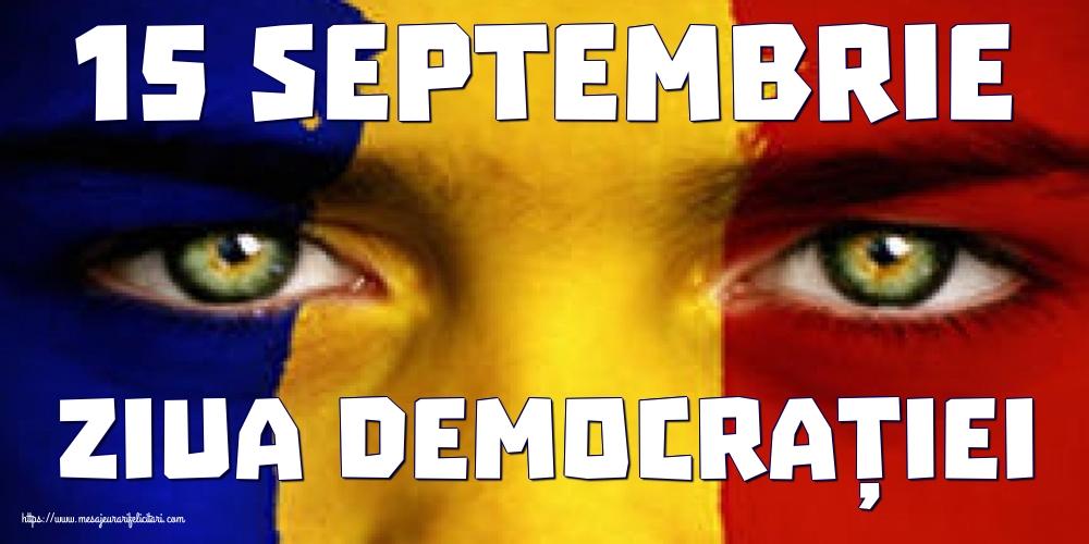 Imagini de Ziua Internațională a Democrației - 15 Septembrie Ziua Democrației