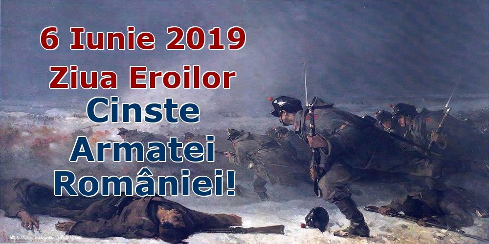 Imagini de Ziua Eroilor - 6 Iunie 2019 Ziua Eroilor Cinste Armatei României!