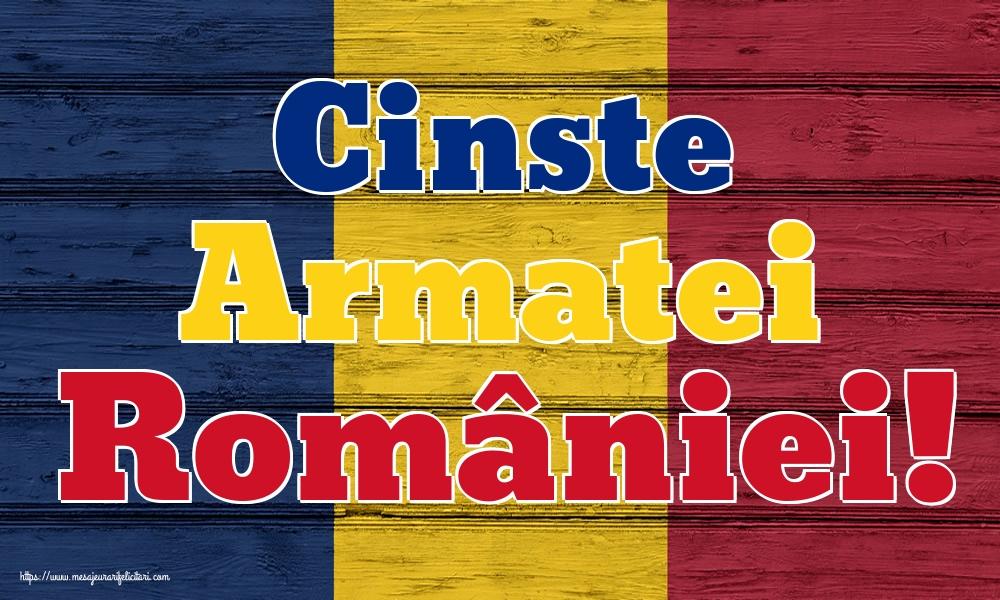 Imagini de Ziua Eroilor - Cinste Armatei României!
