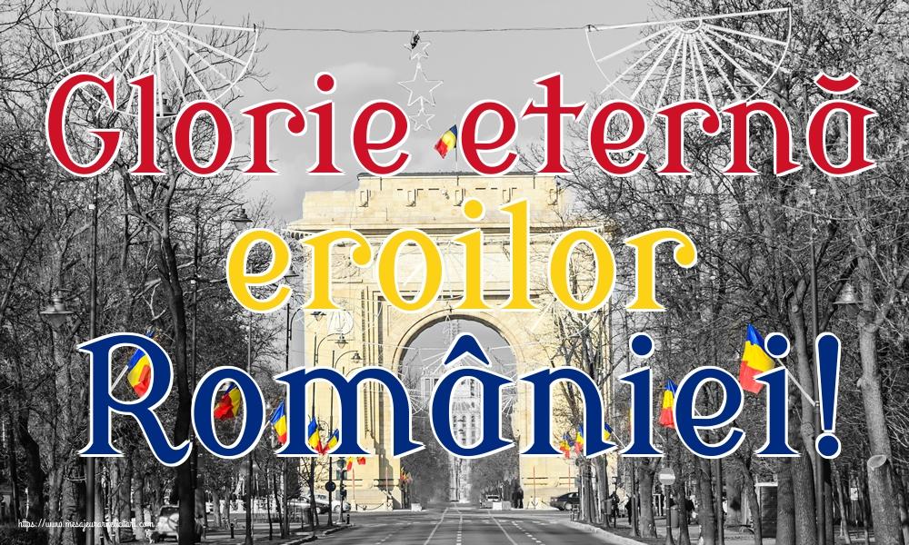 Imagini de Ziua Eroilor - Glorie eternă eroilor României!