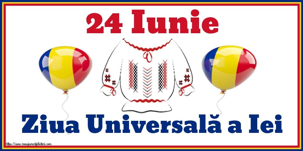 Felicitari de Ziua Universală a Iei - 24 Iunie Ziua Universală a Iei