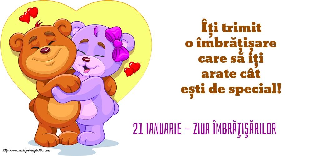 21 Ianuarie - Ziua Îmbrăţişărilor