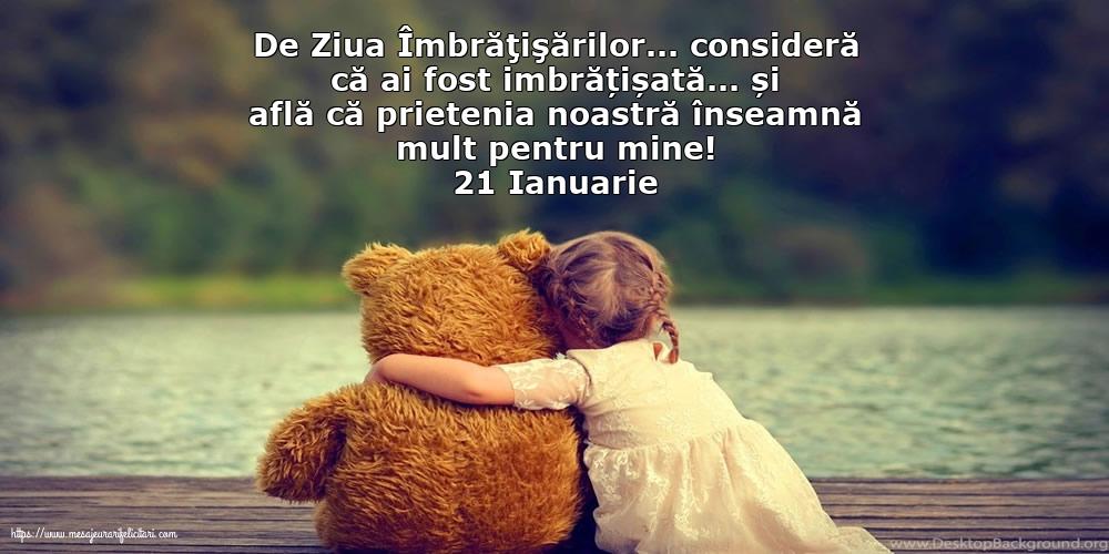 Felicitari de Ziua Imbratisarilor - 21 Ianuarie - mesajeurarifelicitari.com