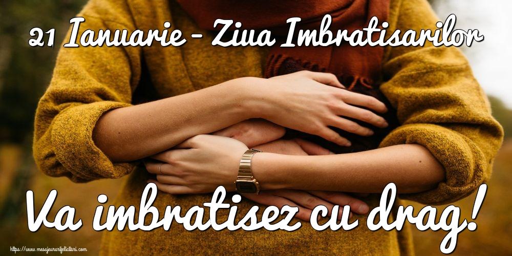 Felicitari de Ziua Imbratisarilor - 21 Ianuarie - Ziua Imbratisarilor Va imbratisez cu drag! - mesajeurarifelicitari.com
