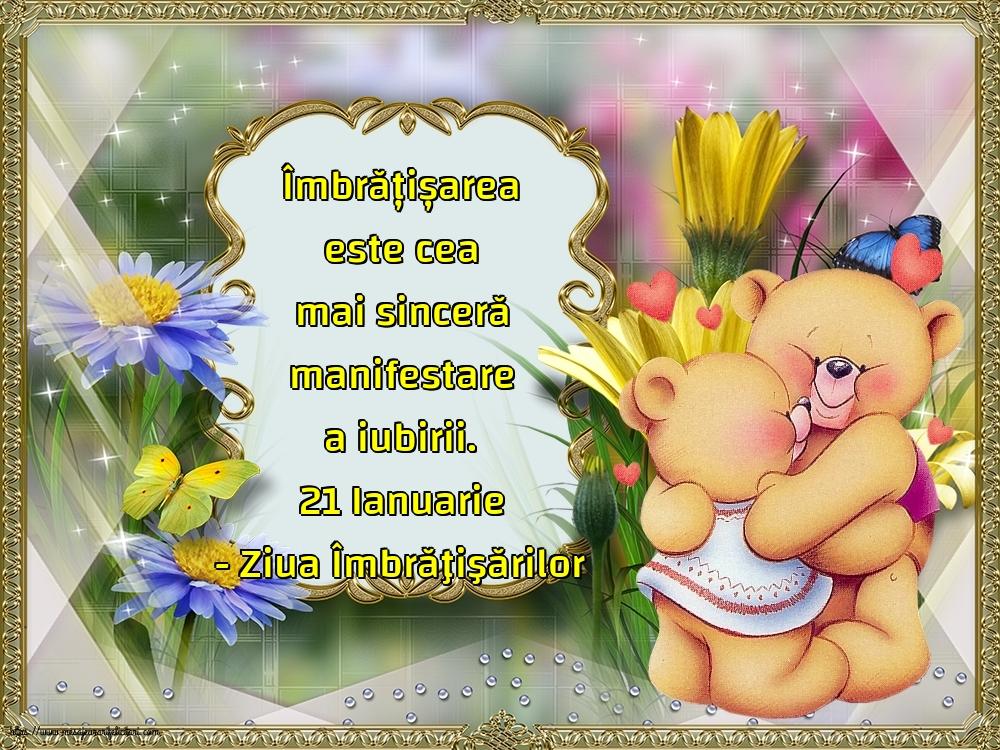 Felicitari de Ziua Imbratisarilor - 21 Ianuarie - Ziua Îmbrăţişărilor