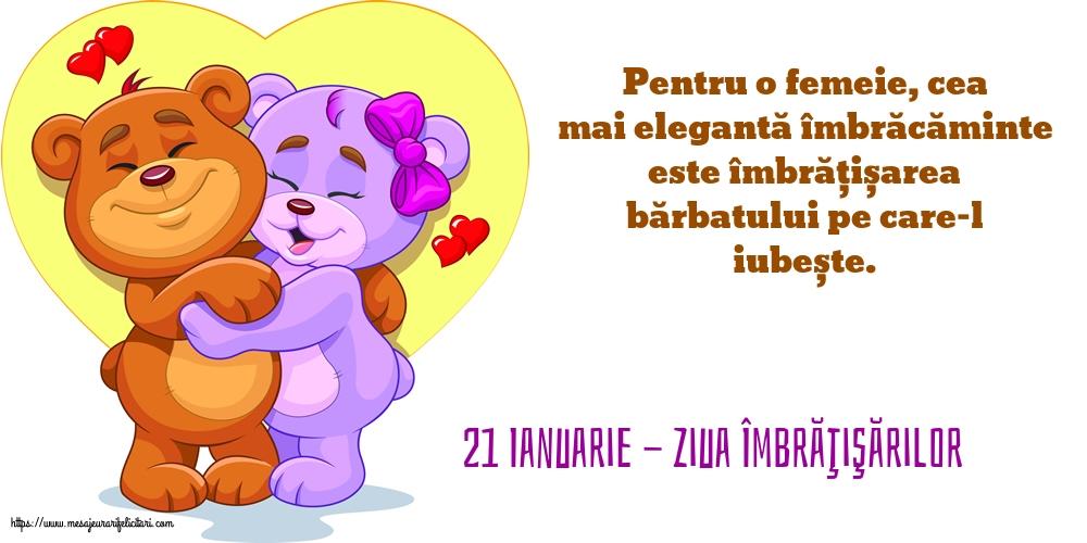 Felicitari de Ziua Imbratisarilor cu mesaje - 21 Ianuarie - Ziua Îmbrăţişărilor