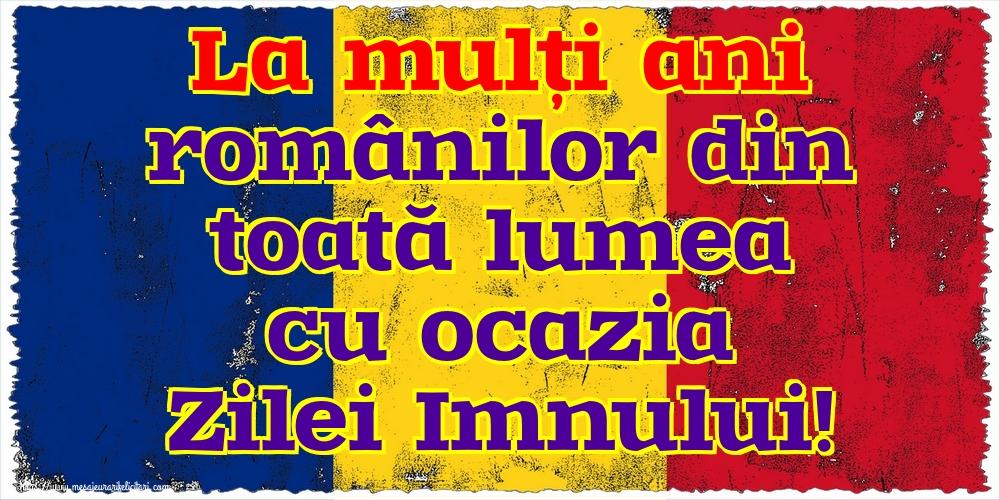 Felicitari de Ziua Imnului - La mulți ani românilor din toată lumea cu ocazia Zilei Imnului!