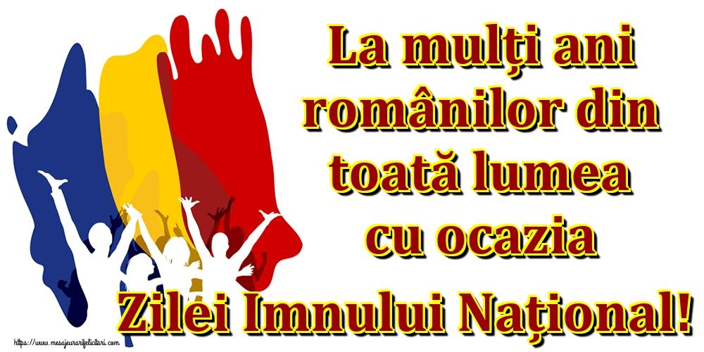Ziua Imnului La mulți ani românilor din toată lumea cu ocazia Zilei Imnului Național!