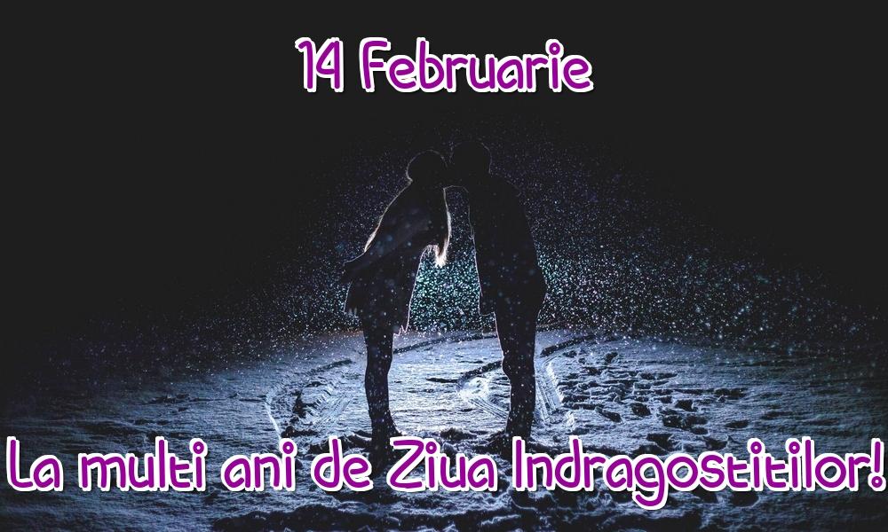 Felicitari Ziua indragostitilor - 14 Februarie La multi ani de Ziua Indragostitilor!