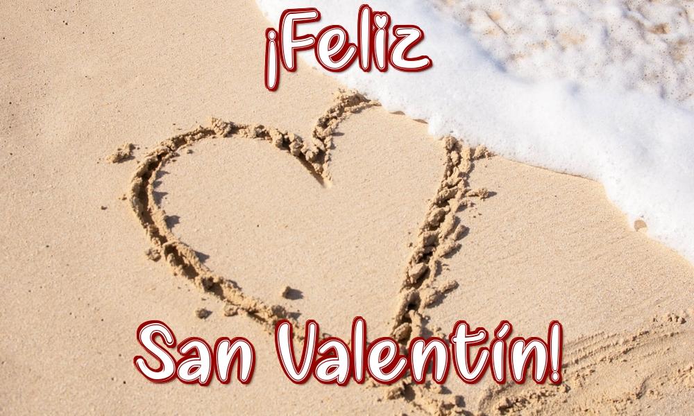 Felicitari Ziua indragostitilor in Spaniola - ¡Feliz San Valentín!