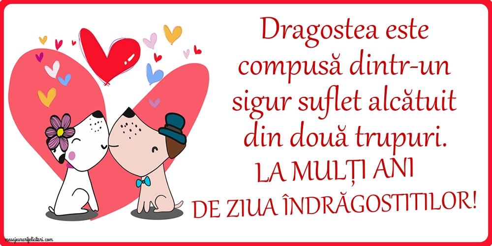 Felicitari Ziua indragostitilor - La mulți ani de Ziua Îndrăgostitilor! - mesajeurarifelicitari.com