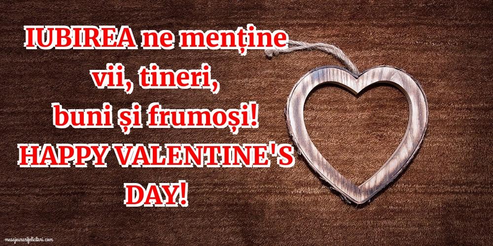 Felicitari Ziua indragostitilor - Happy Valentine's day! - mesajeurarifelicitari.com
