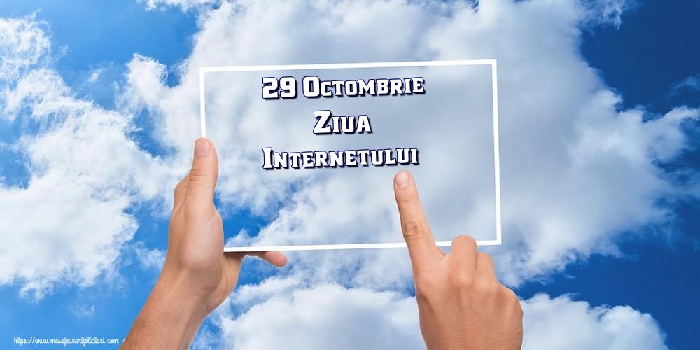 Felicitari de Ziua Internetului - 29 Octombrie Ziua Internetului!