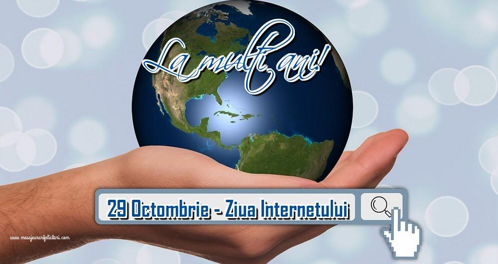 Felicitari de Ziua Internetului - 29 Octombrie - Ziua Internetului