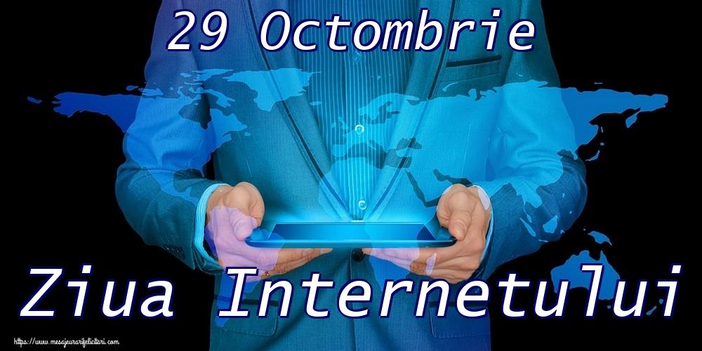 Felicitari de Ziua Internetului - 29 Octombrie Ziua Internetului