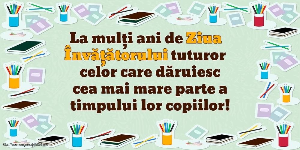 5 iunie - La mulți ani de Ziua Învățătorului!