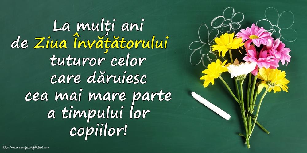 Ziua Învățătorului 5 iunie - La mulți ani de Ziua Învățătorului!