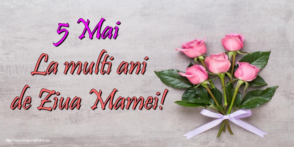 5 Mai La multi ani de Ziua Mamei!
