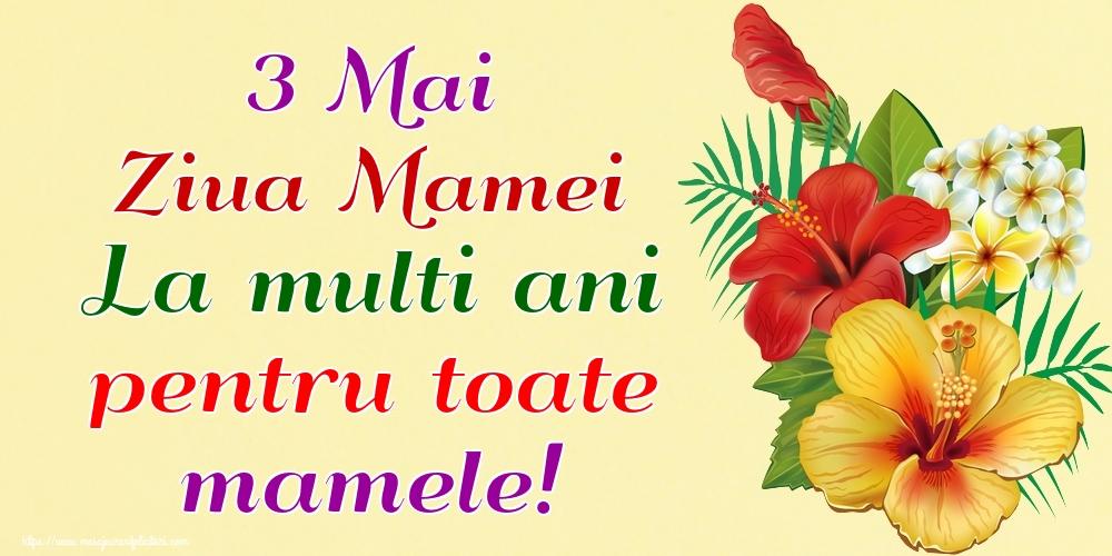Ziua Mamei 3 Mai Ziua Mamei La multi ani pentru toate mamele!