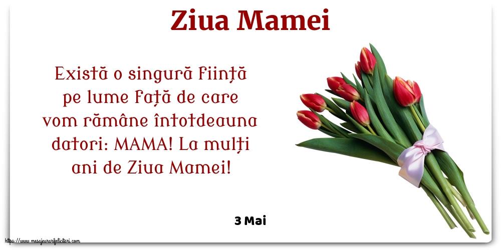 Felicitari de Ziua Mamei cu flori - 3 Mai - Ziua Mamei