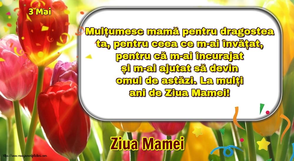 Felicitari de Ziua Mamei - 3 Mai - Ziua Mamei