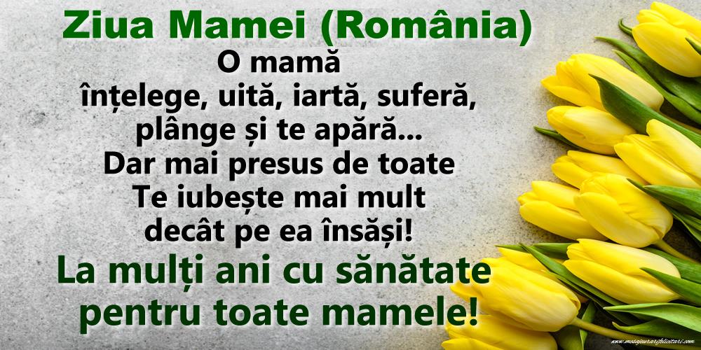 Felicitari de Ziua Mamei - Ziua Mamei (România)  - La mulți ani cu sănătate pentru toate mamele!