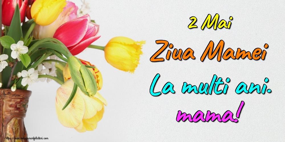 Felicitari de Ziua Mamei - 2 Mai Ziua Mamei La multi ani. mama!