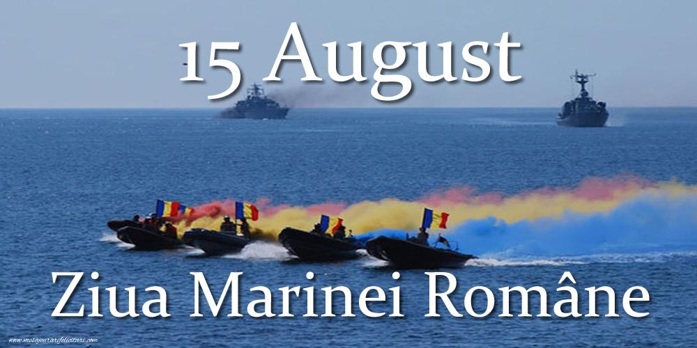 Ziua Marinei 15 August - Ziua Marinei Române