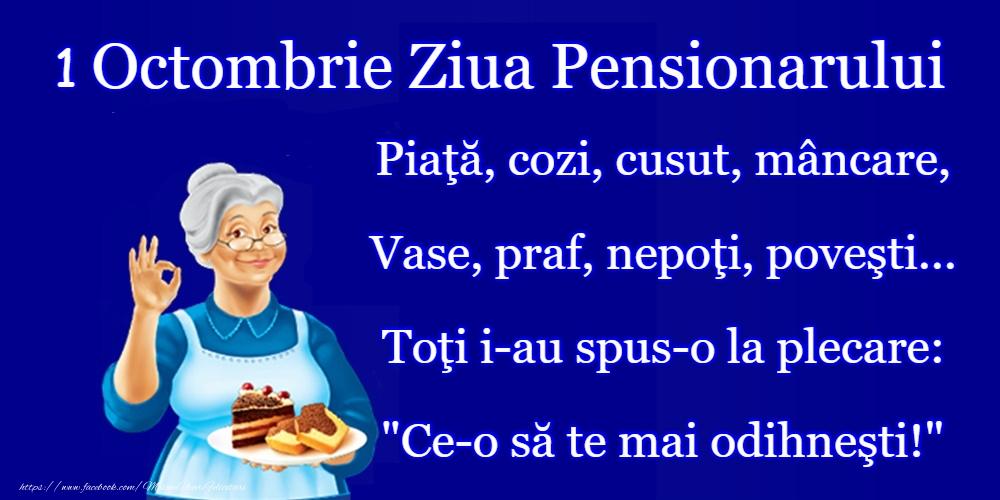 Ziua Pensionarului La mulți ani de Ziua Pensionarului!