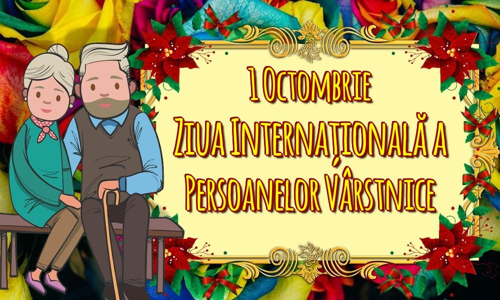 Felicitari de Ziua Pensionarului - 1 Octombrie Ziua Internațională a Persoanelor Vârstnice - mesajeurarifelicitari.com