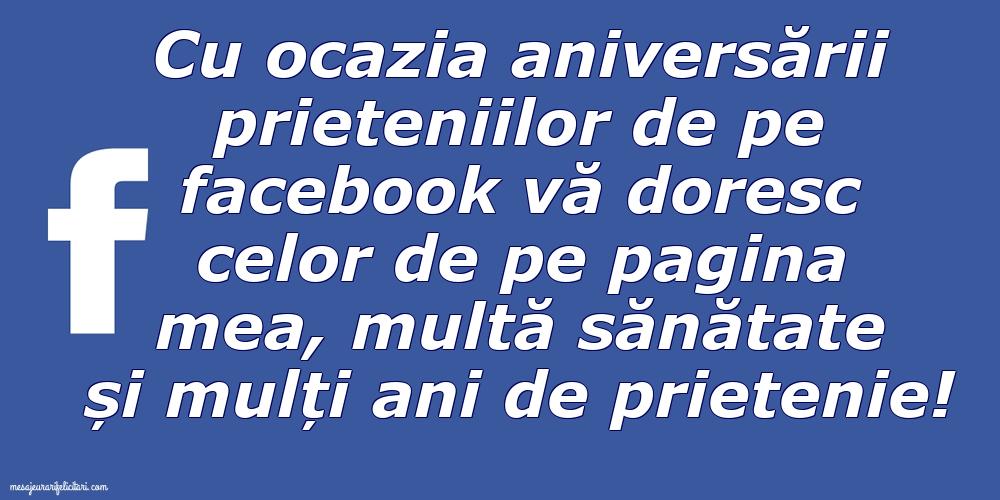 Felicitari de Ziua Prieteniei - Ziua prieteniei pe Facebook