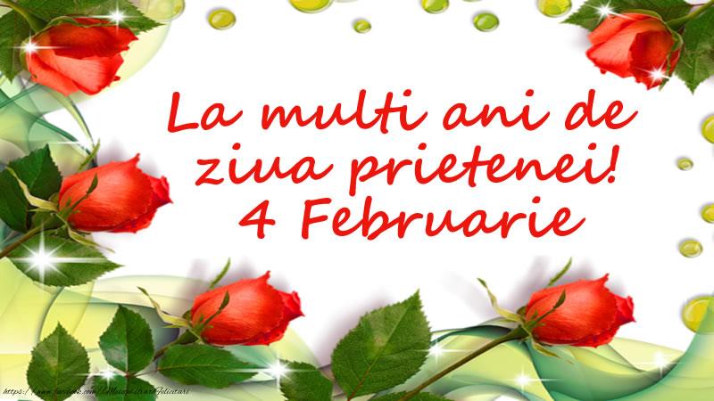 Felicitari de Ziua Prieteniei - La multi ani de  ziua prietenei! 4 Februarie